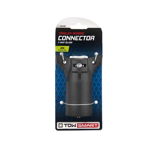 towsmart 7 way blade trailer wiring connector at menards rh menards com