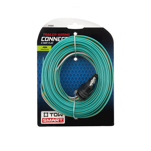 towsmart 4 way flat trailer wiring connector at menards®