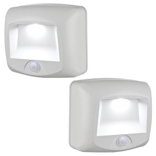 Mr Beams 174 White Battery Operated Indoor Or Outdoor Motion
