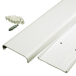 legrand® wiremold® white flat-screen tv cord cover kit