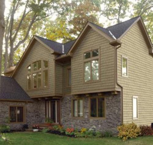Cedar Impressions Double 7 Staggered Perfection Shingles At Menards