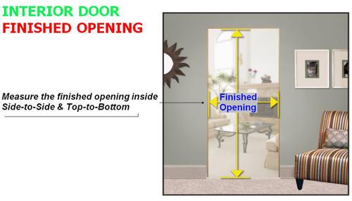 "Mastercraft® 30"" x 80"" Ready-to-Finish Pine 6-Panel 2-Leaf Bi-Fold Door"