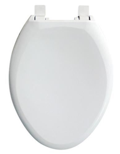 Tuscany Slow Close Elongated White Plastic Toilet Seat At Menards