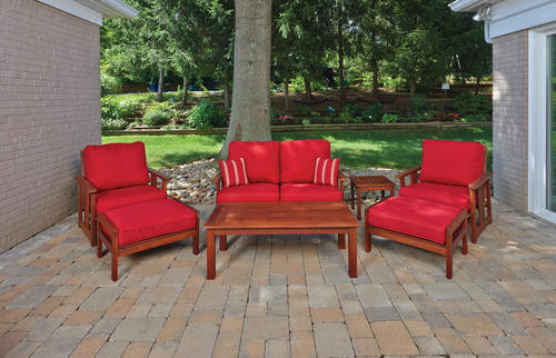 Backyard Creations Ashland 7Piece Deep Seating Patio Set at Menards