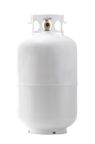 Steel 30-lb Empty Propane Cylinder at Menards®