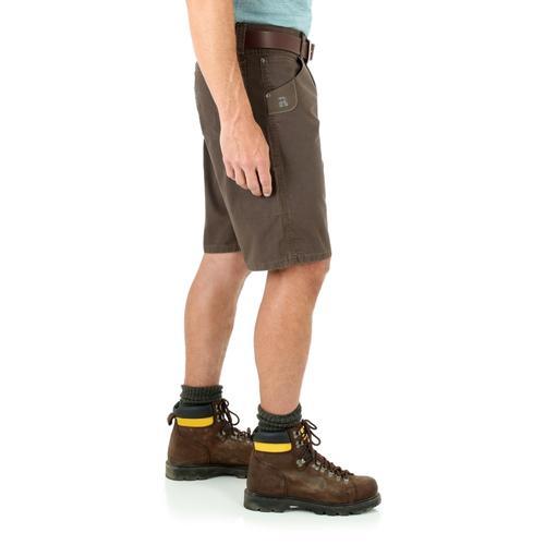 feb64521 Wrangler Riggs Men's Technician Shorts - 36/Dark Brown