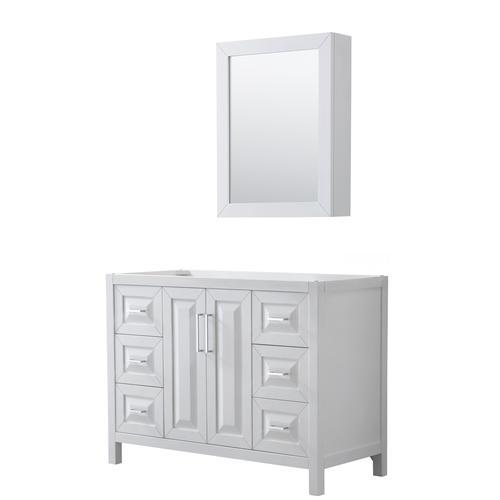 wyndham collection daria 47 w x 22 d white bathroom vanity cabinet rh menards com 47 inches bathroom vanity 47 bathroom vanity top
