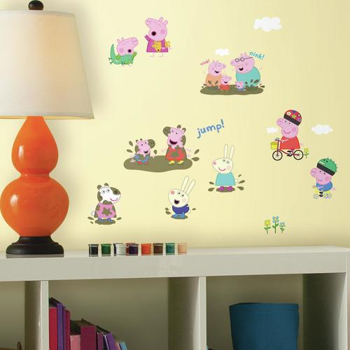 Peppa the Pig Wall Decals at Menards®