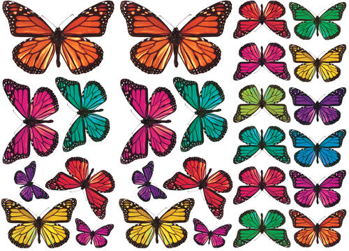 3d butterfly wall stckers wall decors wall art wall.htm roommates butterfly 3 d wall decals at menards    roommates butterfly 3 d wall decals at