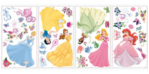 fdc068c268 RoomMates Disney Princess - Princess Peel & Stick Wall Decals at ...