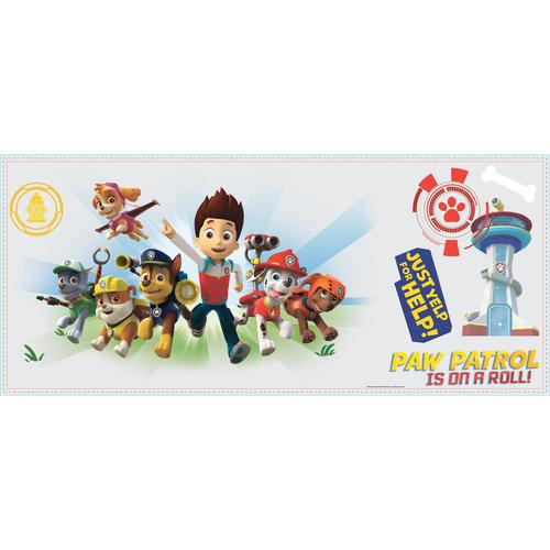 York Wallcoverings RMK2641GM RoomMates Paw Patrol Wall Graphix Peel and Stick Giant Wall Decals