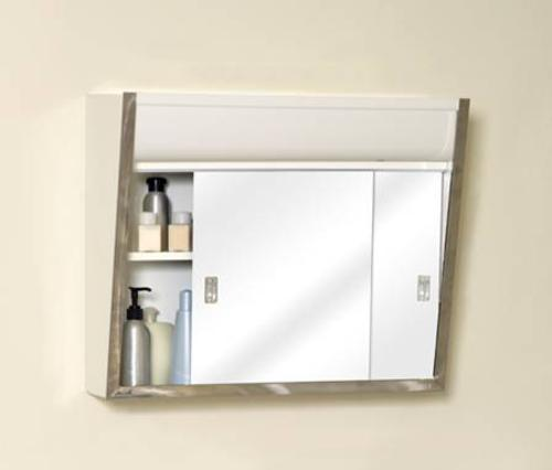 Zenith Chrome Framed Slider Medicine Cabinet At Menards®