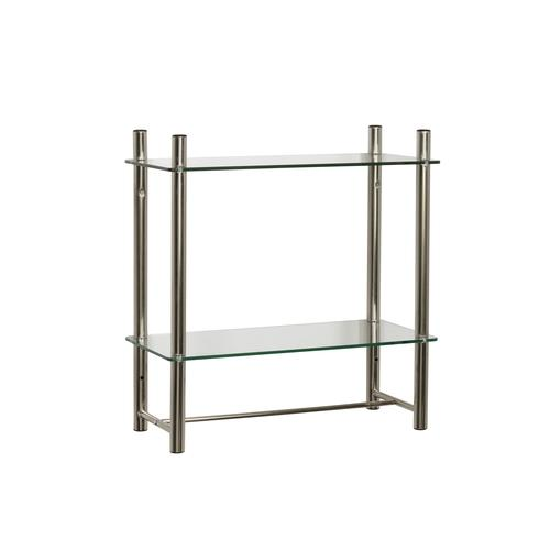 Stupendous Zenna Home 20W X 21 25H Brushed Nickel Floating Glass Download Free Architecture Designs Scobabritishbridgeorg
