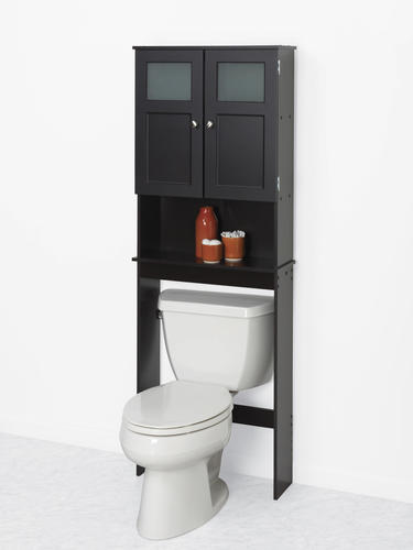 Espresso Bathroom Wall Cabinet