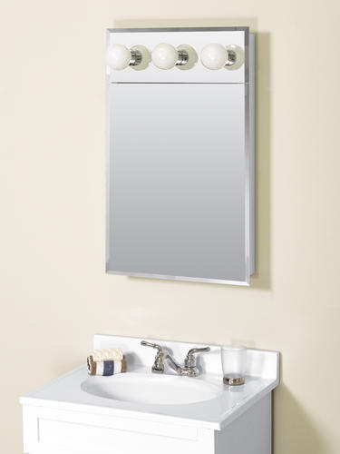 Zenith Frameless Lighted Medicine Cabinet At Menards 174