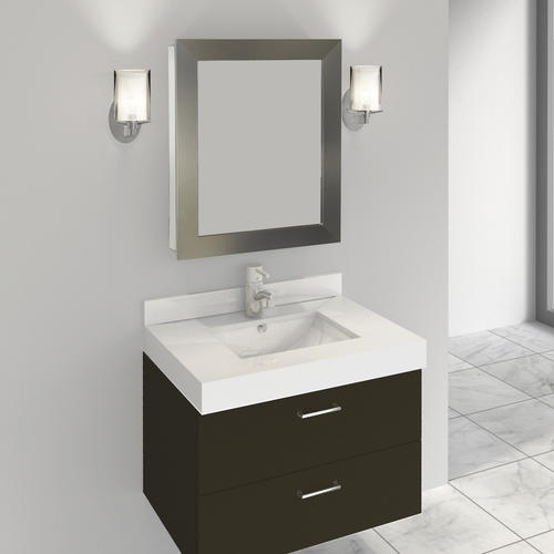 Brushed Nickel Medicine Cabinet