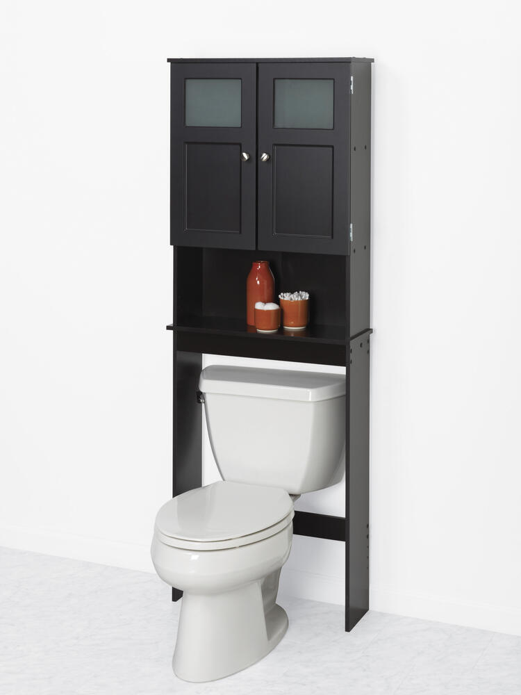 Zenna Home 23 W X 67 H Espresso Over The Toilet Storage Cabinet At Menards