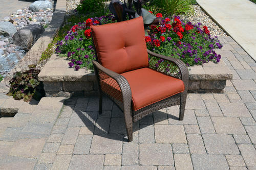 Beau Backyard Creations® Orchard Valley Club Patio Chair At Menards®