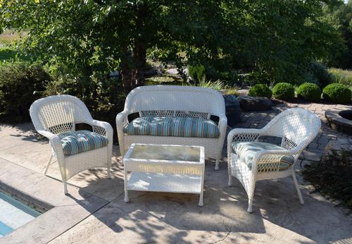 Backyard Creations Chesapeake 4Piece Deep Seating Patio Set at