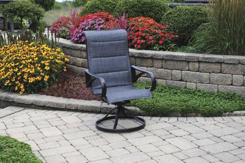 Backyard Creations Bristol Cove Swivel Rocker Patio Chair