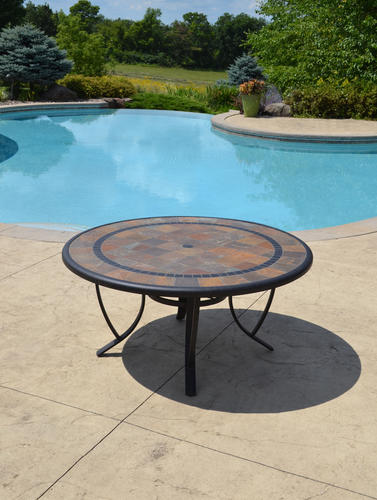 Sterling Home & Patio® Orleans Round Dining Patio Table at Menards®