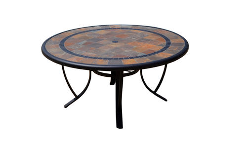 Sterling Home Patio Orleans Round Dining Table At