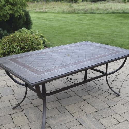 Backyard Creations 174 Madison Rectangular Dining Patio Table