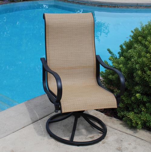 Awesome Backyard Creations Belvedere Swivel Rocker Patio Chair At Onthecornerstone Fun Painted Chair Ideas Images Onthecornerstoneorg