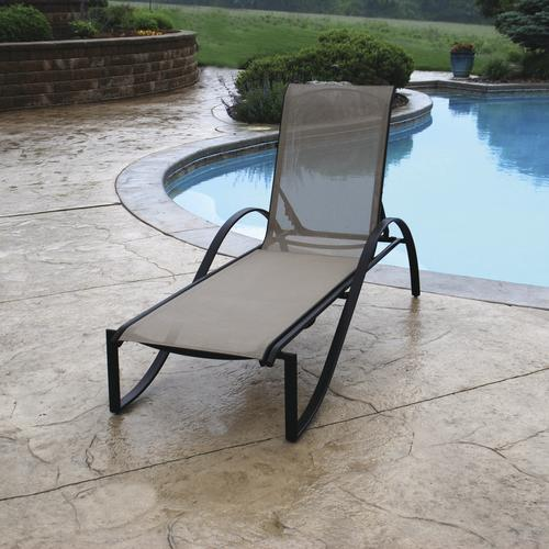 Backyard Creations Stack Chaise Patio Lounge Chair At Menards