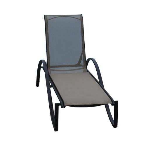 Backyard Creations 174 Stack Chaise Patio Lounge Chair At