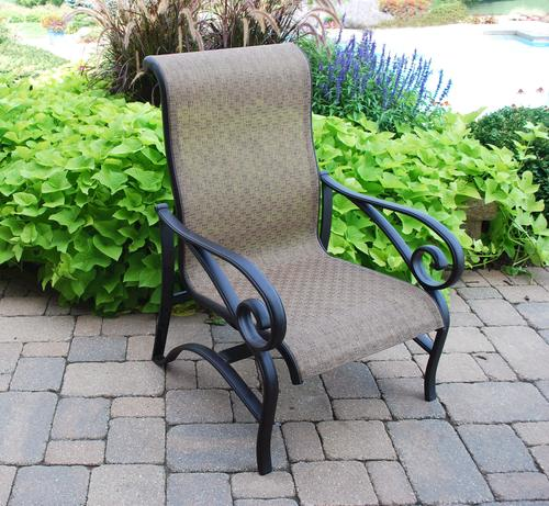 Backyard Creations® Sling Chat Patio Chair At Menards®
