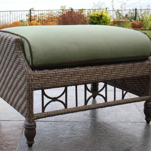 - Sterling Home & Patio® Savannah Woven Patio Chair Ottoman At Menards®