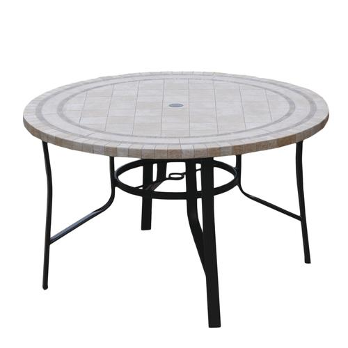 Backyard Creations 174 Hamilton Round High Dining Patio Table