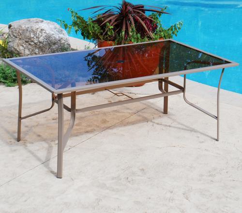 Backyard Creations® Grant Park Rectangular Dining Patio Table at ...