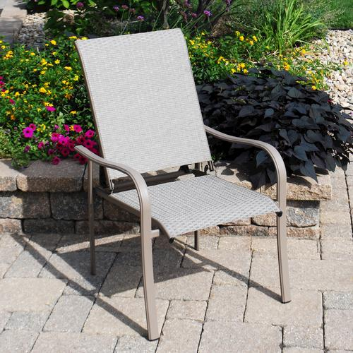 Backyard Creations® Grant Park Recliner Patio Chair At Menards®