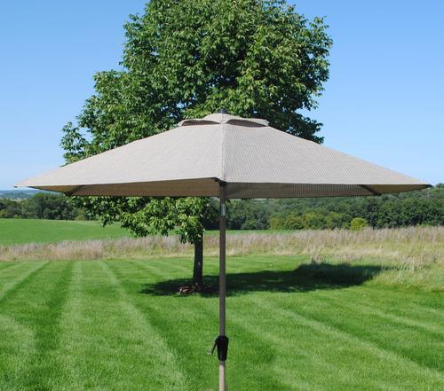 Backyard Creations™ Grant Park Patio Market Umbrella At Menards®