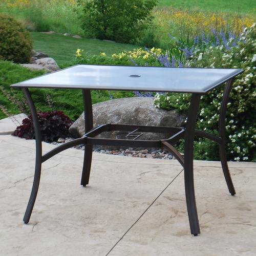Exceptional Backyard Creations® Somerset Square Dining Patio Table At Menards®