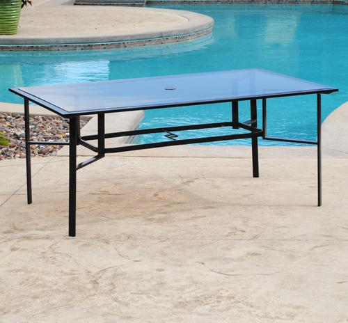 Backyard Creations® Pacifica Rectangular Dining Patio