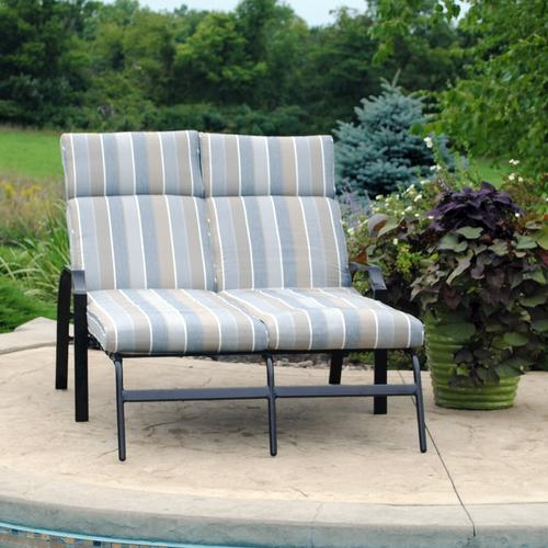 Backyard Creations Pacifica Chaise Lounge Patio Chair At Menards