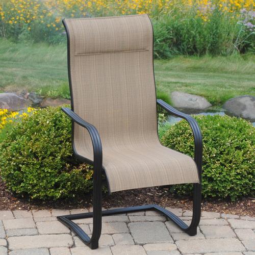 backyard creations cascade falls patio chair at menards rh menards com Menards Patio Furniture Sets Menards Wicker Patio Furniture