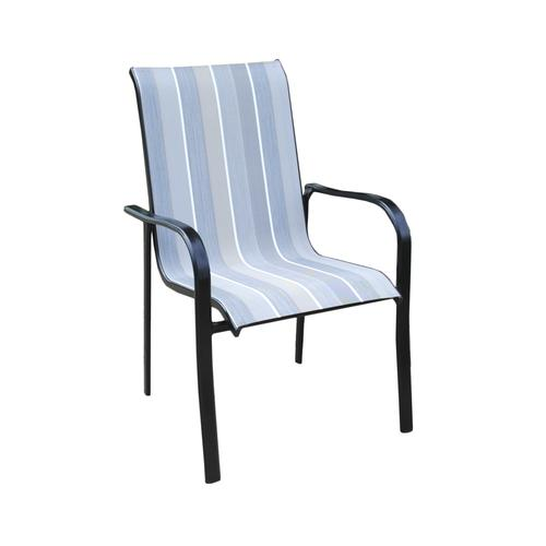 Swell Backyard Creations Pacifica Sling Dining Patio Chair At Download Free Architecture Designs Meptaeticmadebymaigaardcom