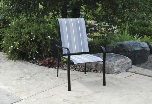 Backyard Creations Pacifica Sling Reclining Patio Chair At Menards