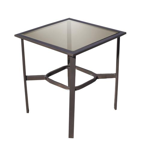 Backyard Creations® Canyon Creek Square Side Patio Table ...
