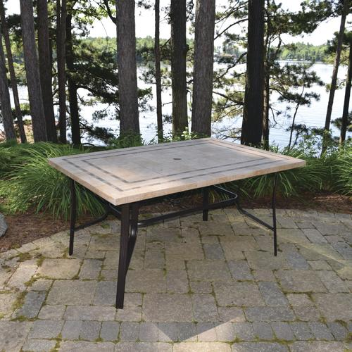 Backyard Creations® Hamilton Rectangular Dining Patio Table