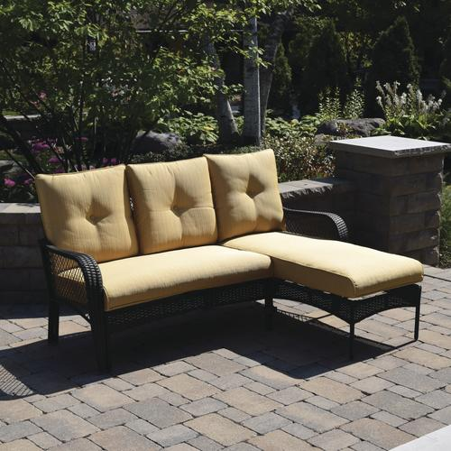 Backyard Creations® Maple Grove Modular Patio Sofa With Chaise At Menards®