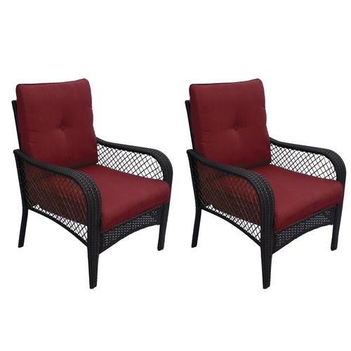Outstanding Backyard Creations Maple Grove Deep Seating Patio Chair 2 Home Interior And Landscaping Ologienasavecom