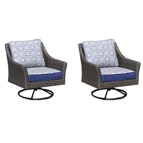 Tremendous Backyard Creations Prescott Swivel Glider Deep Seating Unemploymentrelief Wooden Chair Designs For Living Room Unemploymentrelieforg