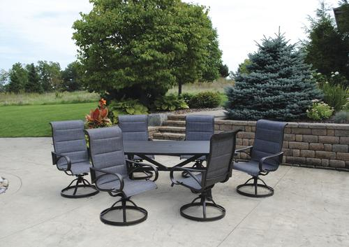 Backyard Creations Bristol Cove Collection 7 Piece Dining Patio Set