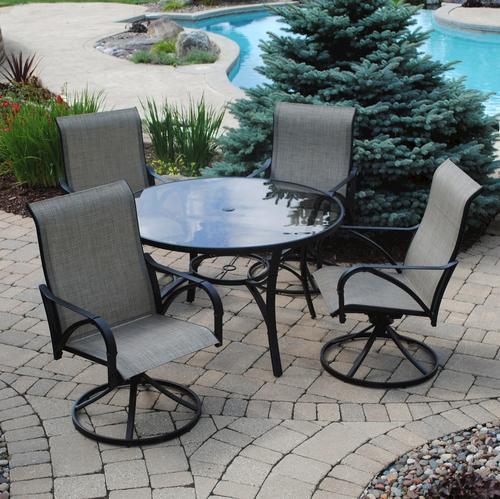 Backyard Creations® Augustine 5-Piece Dining Patio Set at Menards®