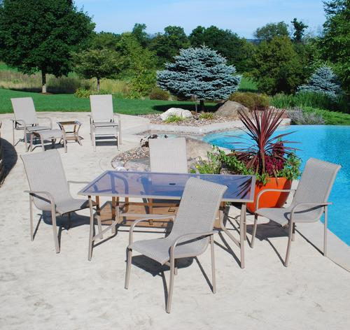 Backyard Creations Grant Park 10Piece Dining Patio Set at Menards